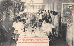 Côte D' Ivoire / Other - 75 - Banquet Offert Au Ministre Par Le Commerçants - Belle Oblitération - Côte-d'Ivoire
