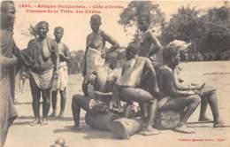 Côte D' Ivoire / Ethnic H - 99 - Femmes De La Tribu Des Ebriés - Côte-d'Ivoire
