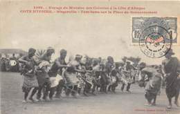 Côte D' Ivoire / Ethnic H - 103 - Bingerville - Tam Tams Sur La Place Du Gouvernement - Belle Oblitération - Côte-d'Ivoire