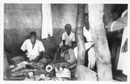 Côte D' Ivoire / Ethnic H - 106 - Atelier Indigène Pour Ivoire - Côte-d'Ivoire