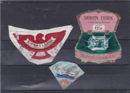 SIERRA LEONE :  Lot De 3 Timbres Neuf XX Et (o) - Sierra Leone (1961-...)