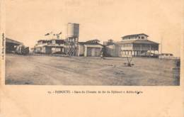 Djibouti / Topo - 21 - Gare Du Chemin De Fer - Djibouti