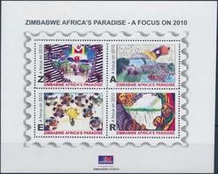 ** 2010 Mennyei Zimbabwe Blokk, Heavenly Zimbabwe Block Mi 29 - Unclassified
