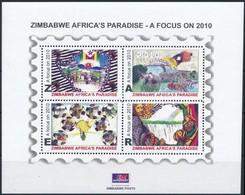 ** 2010 Mennyei Zimbabwe Kisív, Heavenly Zimbabwe Mini Sheet Mi 938-941 - Unclassified