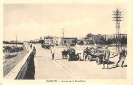 Djibouti / Topo - 32 - Avenue De La République - Djibouti