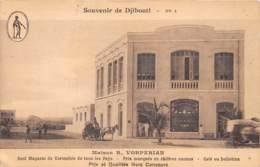 Djibouti / Topo - 46 - Maison Vorperian - - Djibouti