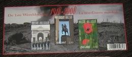 Blok 162** 3842/44** Blok 1ste Wereldoorlog 1914/1918 / Première Guerre Mondial - Blocks & Sheetlets 1962-....