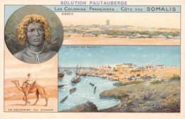 Djibouti / Topo - 50 - Belle Carte Illustrée - Djibouti