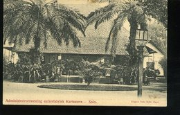 WD134 ADMINISTRATEURSWONING SUIKERFABRIEK KARTASOERA - SOLO  , INDIE OLANDESI - Indonesia