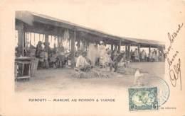 Djibouti / Topo - 55 - Marché Au Poisson Et Viande - Belle Oblitération - Djibouti