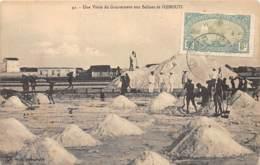 Djibouti / Topo - 58 - Une Visite Du Gouverneur Aux Salines - Djibouti