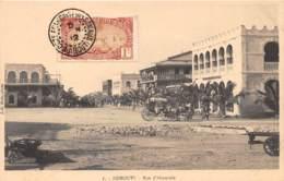 Djibouti / Topo - 63 - Rue D' Abyssinie - Belle Oblitération - Djibouti