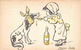 PIE-SDV-18-8143 : SANTE ANIMALE. PAR LOUISE IBELS. LE SIROP AU CHIEN. VETERINAIRE. - Santé