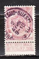 82  Armoiries - Bonne Valeur - Oblit. Centrale BRUXELLES (SUD-OUEST) - LOOK!!!! - 1893-1907 Coat Of Arms