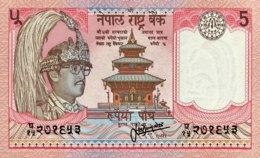 Nepal 5 Rupees, P-30a - UNC - Signature 13 - Nepal