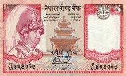 Nepal 5 Rupees, P-46b (2002) - UNC - Népal