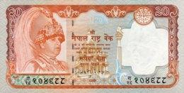 Nepal 20 Rupees, P-47 (2002) - UNC - Signature 15 - Népal