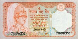 Nepal 20 Rupees, P-38a - UNC - Signature 12 - Nepal