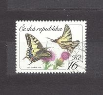 Czech Republic 2016 Gest ⊙ Mi 881 Schmetterlinge, Butterflies. Yellow Swallowtail Papilio C26 - Tchéquie