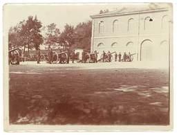 2 Photos Guerre 1914/1915 - Soldats, Canons, Artillerie - Guerre, Militaire