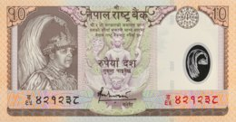 Nepal 10 Rupees, P-54 (2005) - UNC - Népal