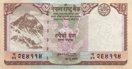 Nepal 10 Rupees, P-61 (2008) - UNC - Nepal