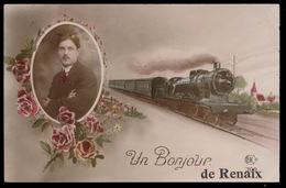 UN BONJOUR DE RENAIX - TRAIN A VAPEUR - Renaix - Ronse