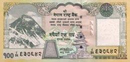 Nepal 100 Rupees, P-64b (2008) - UNC - Nepal