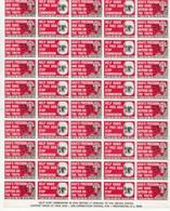 USA Lot De 50 Vignettes Anticommunistes Neuf (**) - Autres