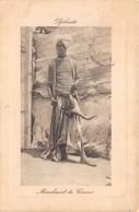 Djibouti / Ethnic - 94 - Marchand De Cornes - Djibouti