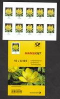 Deutschland  BRD ** 3430 Blumen Winterling Folienblatt Skl   Neuausgabe 18.12.2018 - Nuevos