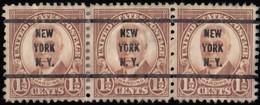 "UNITED STATES - Scott #684 Warren G. Harding ""New York N.Y."" (4) / Used Stamp - Etats-Unis"
