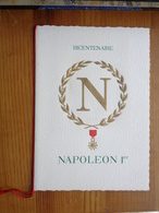 FDC ENCART DE LUXE NAPOLEON 1er, - Napoleon