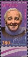 "Artsakh 2018 ""In Memory Of Charles Aznavour"" 1v Quality:100% - Arménie"