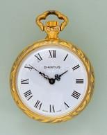 Diantus Mechanikus Svájci, Női  Zsebóra, Szép Számlappal Jól Működő állapotban D:3 Cm - Jewels & Clocks