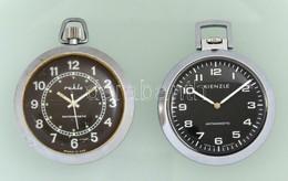 Kienzle és Ruhla Mechanikus Zsebóra Jól Működő állapotban D:4,5 Cm - Jewels & Clocks