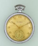 Junta Mechanikus Zsebóra Jól Működő állapotban D:5 Cm - Jewels & Clocks