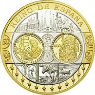 Espagne, Médaille, L'Europe, Espagne, FDC, Argent - Spain