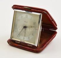 Kienzle Utazó Vekker, Tokban, Működik, 6×6 Cm - Jewels & Clocks