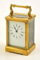 Régi Utazóóra Kulccsal, Működik, óramutató állítójáról Hiányzik A Fej, 11×8×6 Cm - Jewels & Clocks
