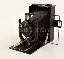 Cca 1927 Voigtländer VAG Síkfilmes Fényképezőgép, Embezet Zárral, Kissé Viseltes, Működőképes állapotban / Vintage Germa - Appareils Photo