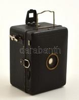 Cca 1930 Zeiss Ikon Box Tengor 54/18 (Baby Box) Fényképezőgép, Goerz Frontar Objektívvel, Működőképes állapotban / Vinta - Appareils Photo