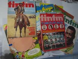 LOT 17 Journal TINTIN N°6-8-16-17-34-38-56-58-62-63-64-72-73-82-86-94-968, Tous Les états Sont Réunis, Feuilles Détachée - Tintin