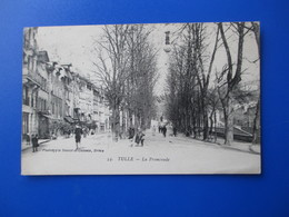 TULLE  La Promenade Philatélie En 1922 - Tulle