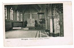 Brugge, Bruges, Chapelle Du Saint Sang, Interieur (pk52243) - Brugge