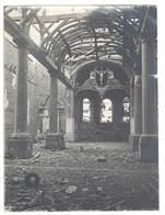 Photo Guerre 1914/1915 - Soldats,église Détruite ( Meuse Ou Meurthe Et Moselle ? ), Ambulance 7 XVe 129 - Guerre, Militaire
