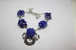 Collana Di Quarzo Solare  Misura 47 Cm. (taglio Delle Pietre Molto Particolare) - Necklaces/Chains