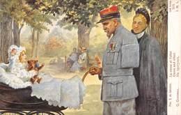 PIE-SDV-18-8151 : LA CAUSE ET L'EFFET PAR S DE SOLOMKO . EDITION LAPINA. GUERRE EUROPEENNE DE 1914-1916. OURS EN PELUCHE - Weltkrieg 1914-18