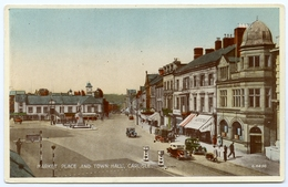 LAKE DISTRICT : CARLISLE - MARKET PLACE AND TOWN HALL - Cumberland/ Westmorland