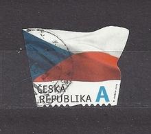 Czech Republic 2015 Gest ⊙ Mi 865 The Flag Of The Czech Republic. Die Flagge Der Tschechische C27 - Tchéquie